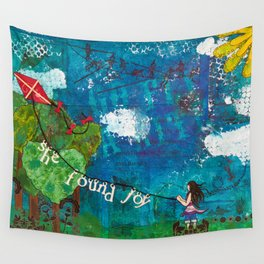 Go Fly A Kite Wall Tapestry