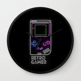 Retro Gamer Wall Clock