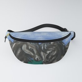Nuzzling Horses Fanny Pack