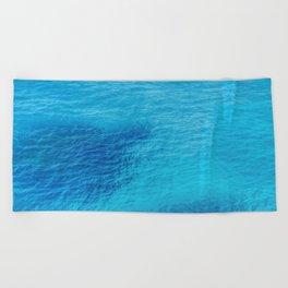 Bluest Blue Beach Towel