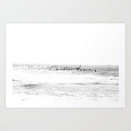 old surf Art Print