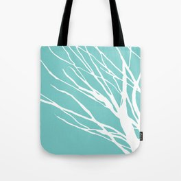 Cyan Blues Tote Bag