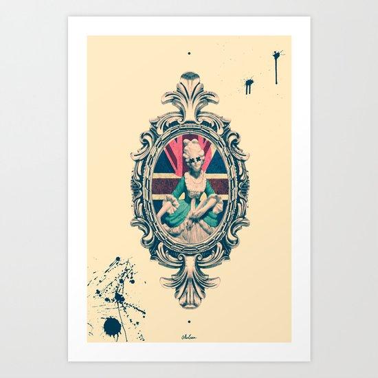 Bourgeoisie Woman Art Print