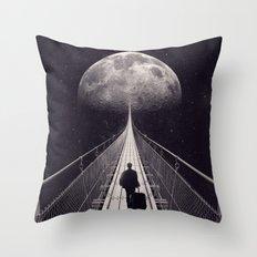 Space Trip Throw Pillow