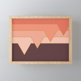 Pink Clouds #society6 #decor #buyart Framed Mini Art Print