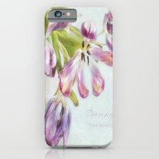 love tulips iPhone 6s Slim Case