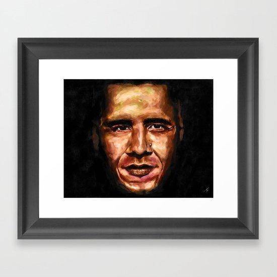 Obama Framed Art Print