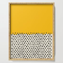 Mid Century Abstract Print, Sunset Art, Living Room Decor, Colour Field, Modernist Modern Art, Colou Serving Tray