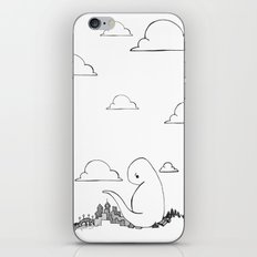 Angry Dino iPhone & iPod Skin