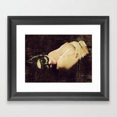 Vintage Erotica Framed Art Print