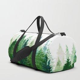 Pine Trees 2 Duffle Bag