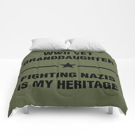 WWII Granddaughter Heritage Comforters