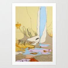 Tip Of The Iceberg Art Print