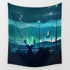 Keeper of the Light Wall Tapestry