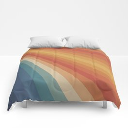 Retro 70s Sunrays Comforters