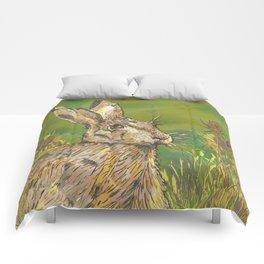 Summer Hare Comforters