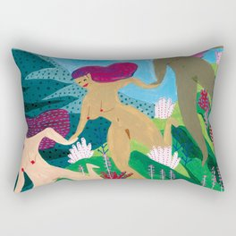three graces Rectangular Pillow