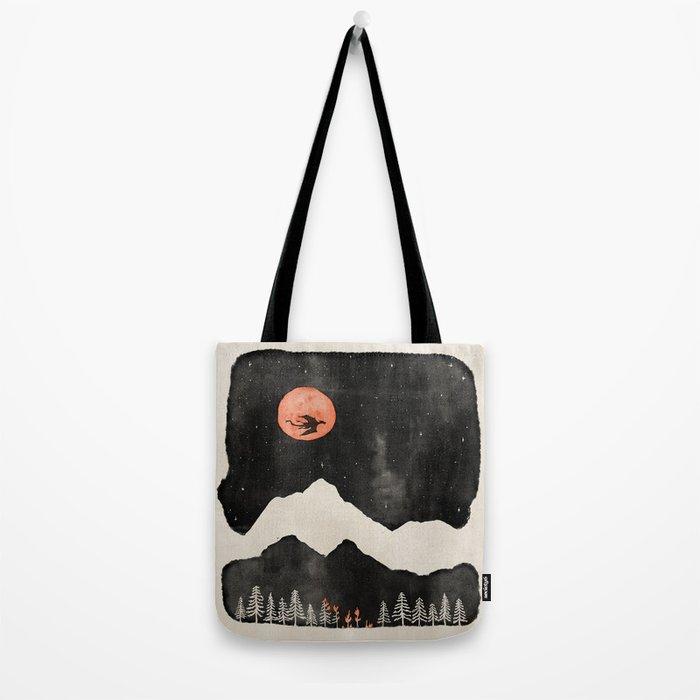 Hunter's Moon... Tote Bag