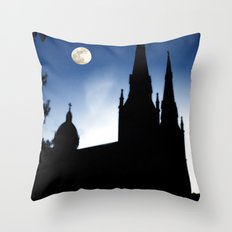 Church Faith Throw Pillow