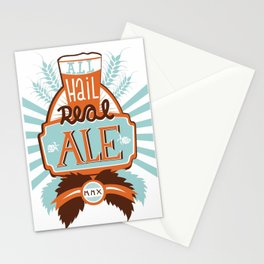 All Hail Real Ale Stationery Cards
