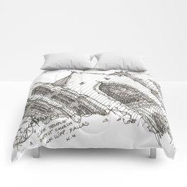 Oa[k]cliff Temple Comforters
