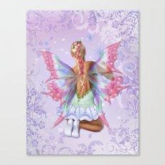 Make a Wish Fairy Canvas Print