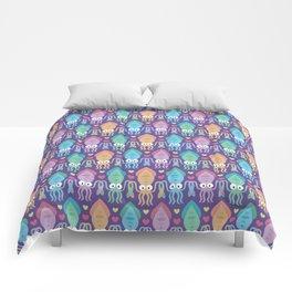 Squid love Comforters