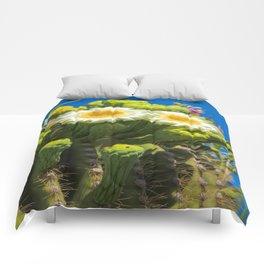 Saguaro Flower Power Comforters