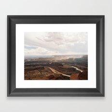 Dead Horse Canyon  Framed Art Print