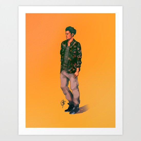 Bellson Art Print