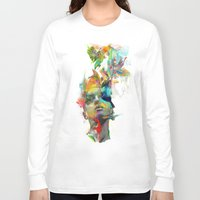 art Long Sleeve T-shirts featuring Dream Theory by Archan Nair