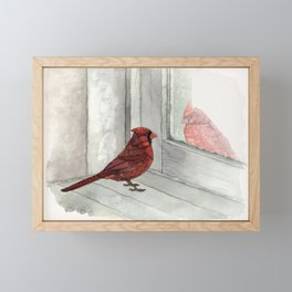 Snow Day Framed Mini Art Print