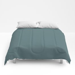 Goblin Blue | Solid Colour Comforters