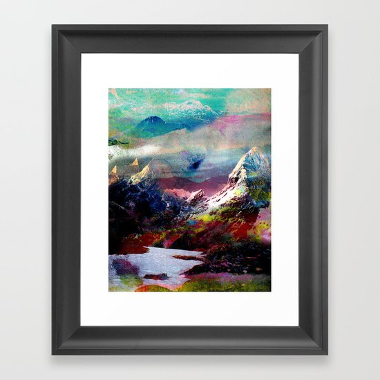 Untitled 20100816g (Landscape) Framed Art Print