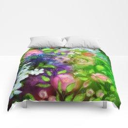 Floral Fantasy 8 Comforters