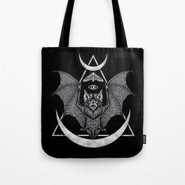 Occult Bat Tote Bag