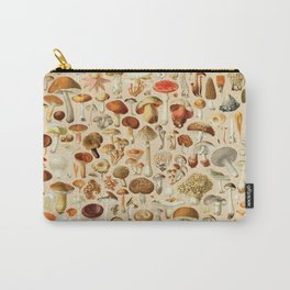 Vintage Mushroom Designs Collection Carry-All Pouch