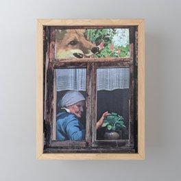 Babushka Framed Mini Art Print