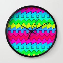 Waves // Color Wall Clock