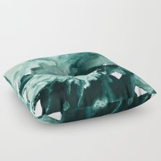 inkblot marble 4 Floor Pillow