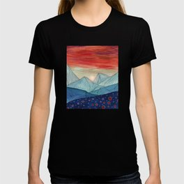 Lines in the mountains IV T-shirt