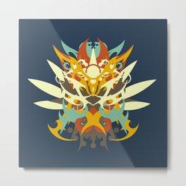 Abstraction Twenty-Five Amaterasu Metal Print