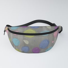 Pastel Bubbles Abstract Fanny Pack