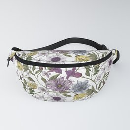 colorful floral pattern I Fanny Pack