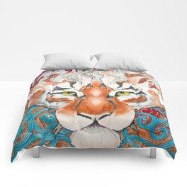 Cinnamon Buns and Dragons Comforters