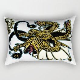 King Ghidora Kaiju Print FC Rectangular Pillow