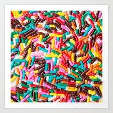 Extra Sprinkles  Art Print