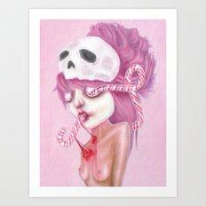 Bleeding to Pieces Art Print