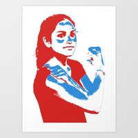 feminism Art Prints featuring Feminism by DebbieHughes