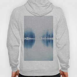Icy Forest on Water (Color) Hoody